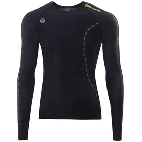 Skins DNAmic - T-shirt manches longues running Homme - noir